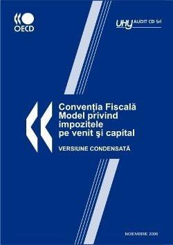conventia fiscala model